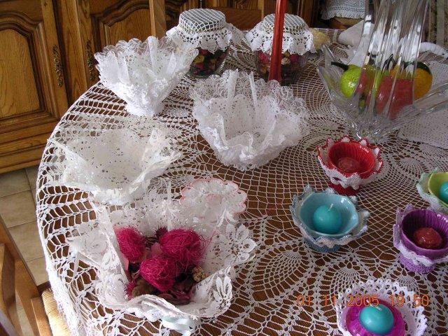 ornements bonbonieres fleurs séchées