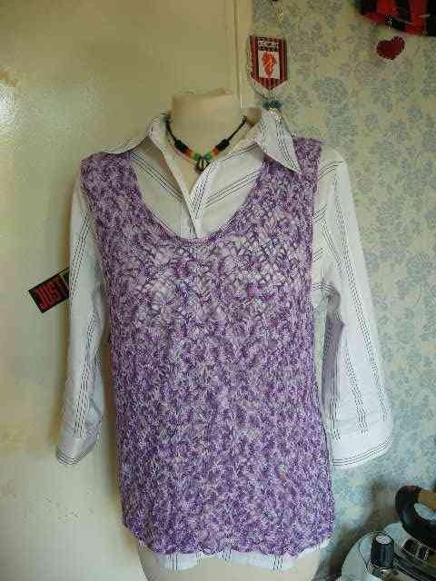 debardeur violet